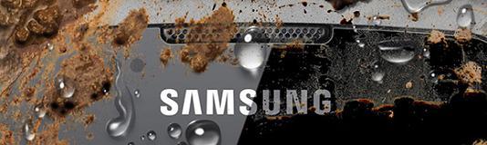 Samsung Galaxy Xcover détail de face