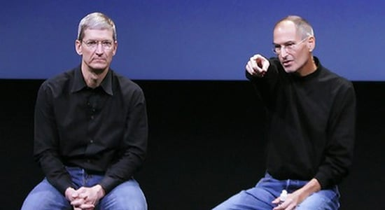 tim cook avec steve jobs