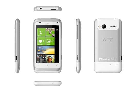 HTC Radar photo officielle