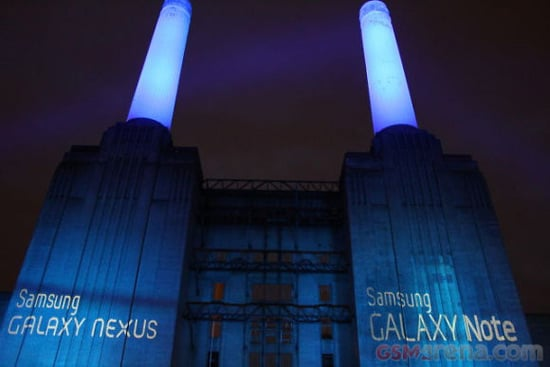 google galaxy nexus londres