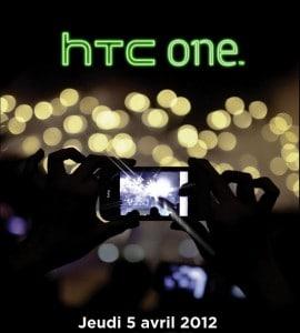 Flyer Soirée de lancement gamme HTC One