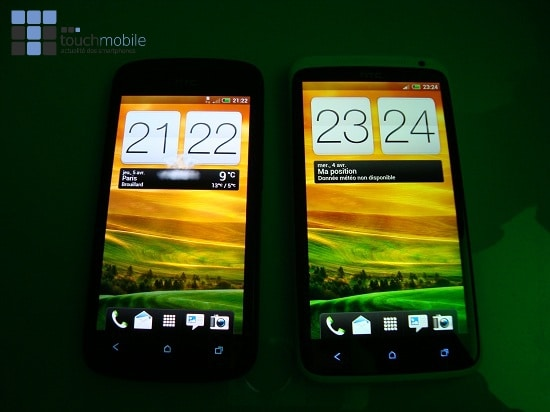 Comparatif HTS One S HTC One X