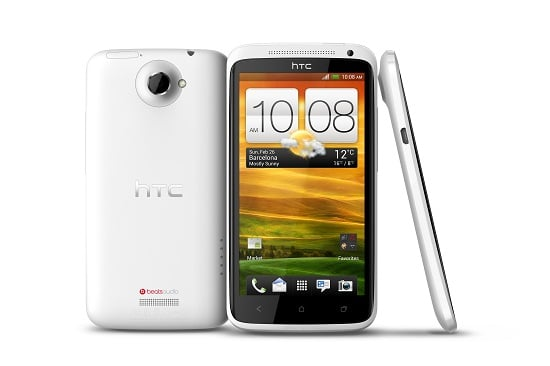 HTC One X sous divers angles