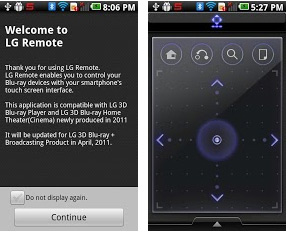 lg remote android