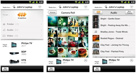 philips myremote android