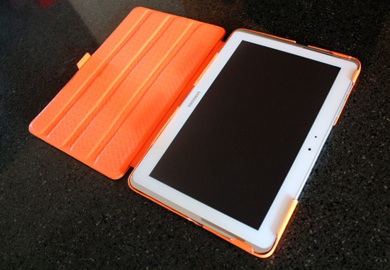 housse noreve orange galaxy tab 2