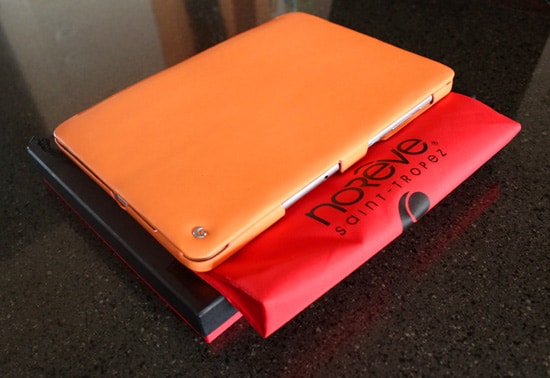 housse packaging noreve orange galaxy tab 2