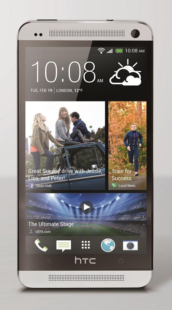 HTC One Argent avant
