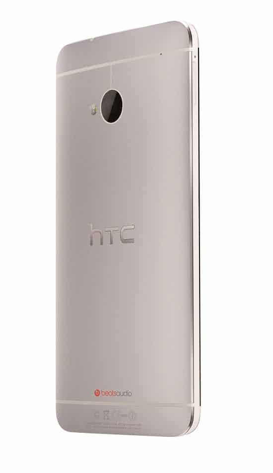 HTC One Argent de dos