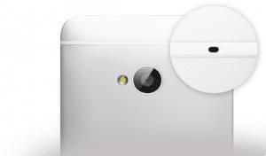 HTC One - Détecteur de bruit ambiant