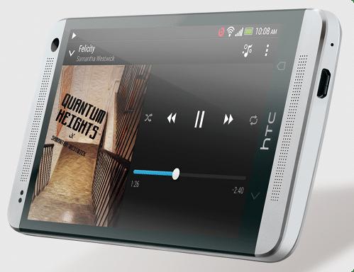 HTC One - Haut-parleurs frontaux