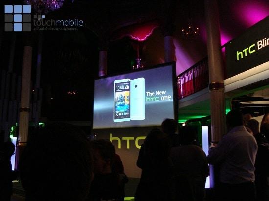HTC One - Soirée