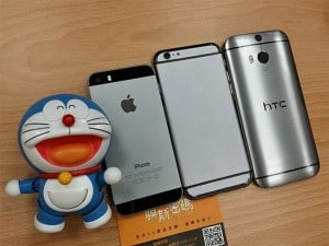 iPhone 5S vs iPhone 6 vs HTC One M8