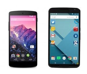 Google Nexus 5 vs Google Nexus 6