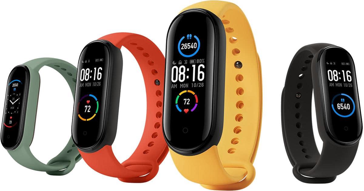 Xiaomi commercialise une montre connectée Mi Smart Band 5 très intéressante
